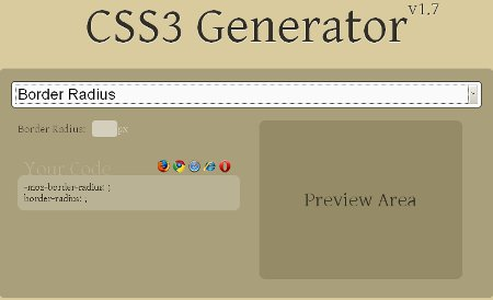 CSS 3 Generator