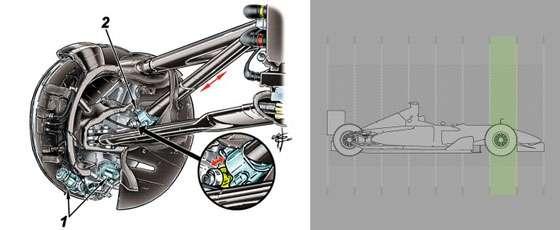 Reactive Ride Height system © Formula1.com