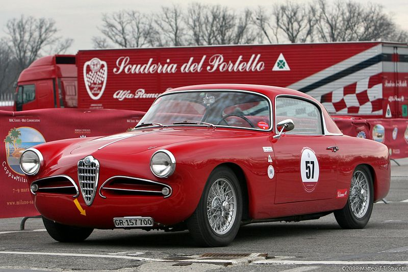 1951 Alfa Romeo 1900. A partir de 1951 Alfa Romeo se