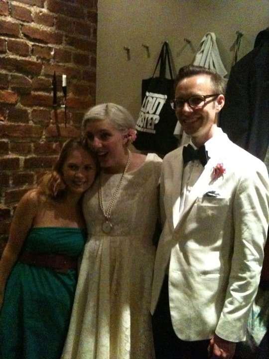 David and alex wedding