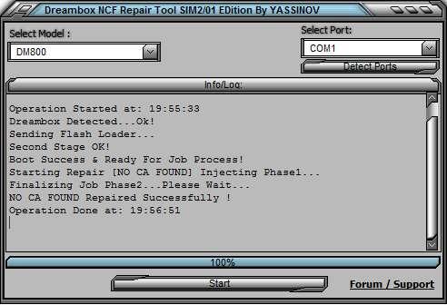 Tools для dreambox 800/8000 HD - Sat-life info