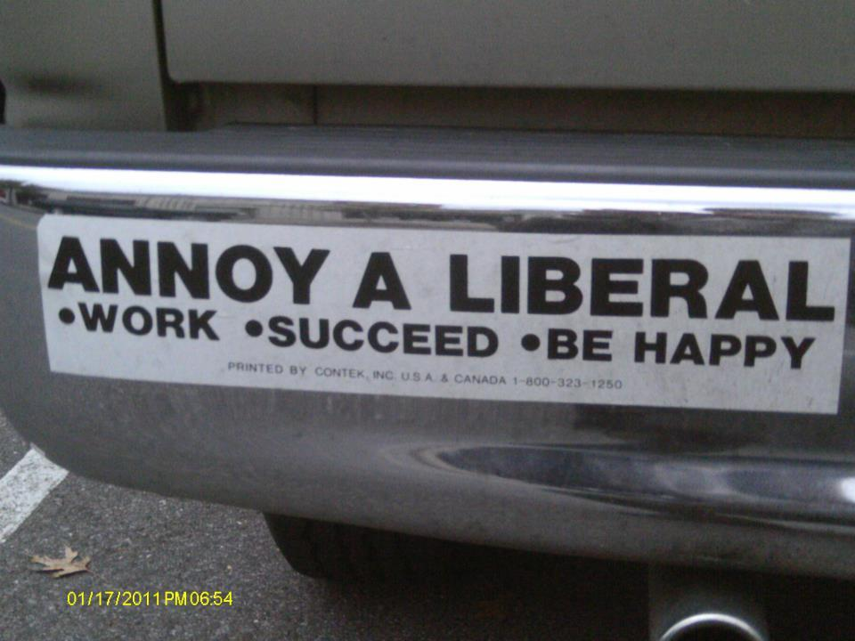 Annoy a Liberal: Succeed